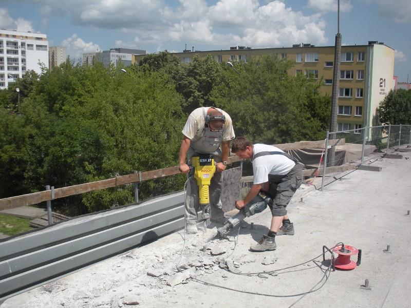 Kucie w betonie w Poznaniu
